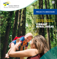 EAFRD Projects Brochure 11 'Vibrant rural areas' - cover