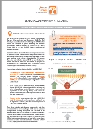LEADER/CLLD Evaluation at a Glance