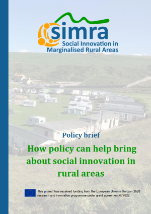 SIMRA policy brief social innovation rural areas