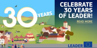 LEADER 30 years banner