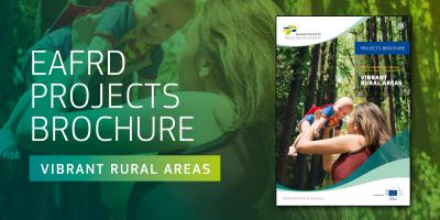 EAFRD Projects Brochure 'Vibrant rural areas' - cover
